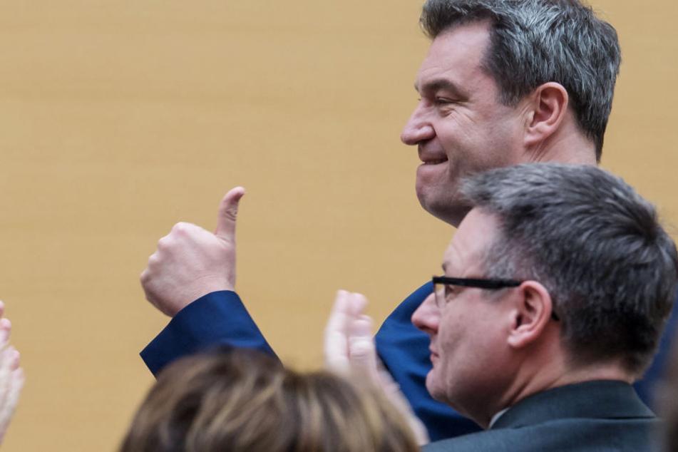 Ministerpräsident Markus Söder (51) wir einer der Hauptredner auf dem Parteitag sein.