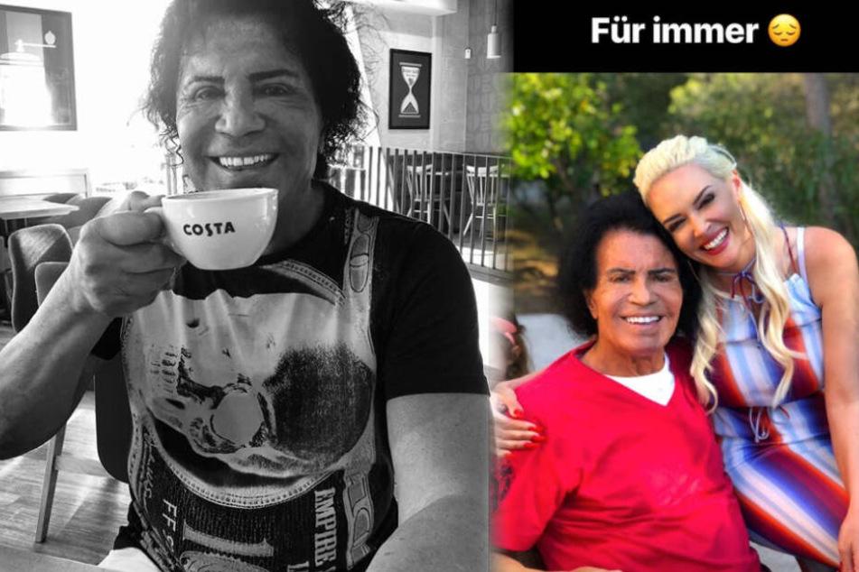 """Daniela Katzenberger: """"Mein Herz bricht"""": Liebeserklärung von Daniela Katzenberger für Costa Cordalis"""