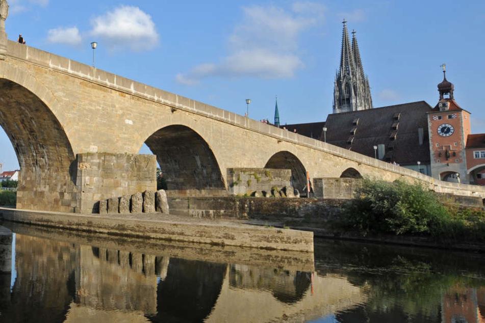 In Regensburg konnten am Mittwoch stolze 37,9 Grad gemessen werden.