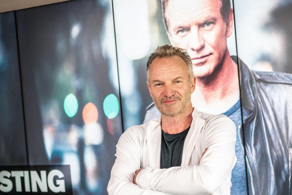 Sting tritt zum Abschluss der Dresdner Musikfestspiele in der Messe auf.