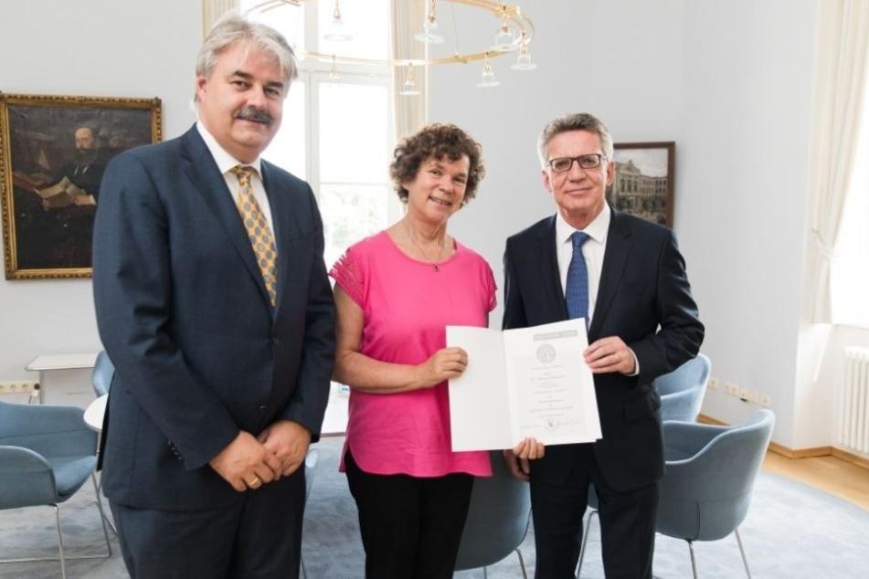 Neuer Job für Ex-Bundes-Innenminister de Maizière in Leipzig