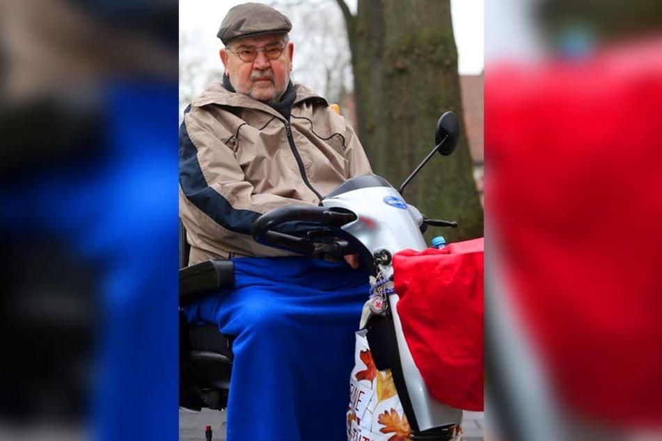 Der Schwerbehinderte kann nicht verstehen, warum man ihm in dieser Notsituation nicht geholfen hat.