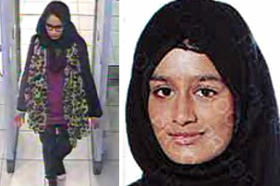 Dieses von der Metropolitan Police zur Verfügung gestellten, undatierten Fotos zeigen Shamima Begum. Die Britin schloss sich mit 15 Jahren dem IS an.