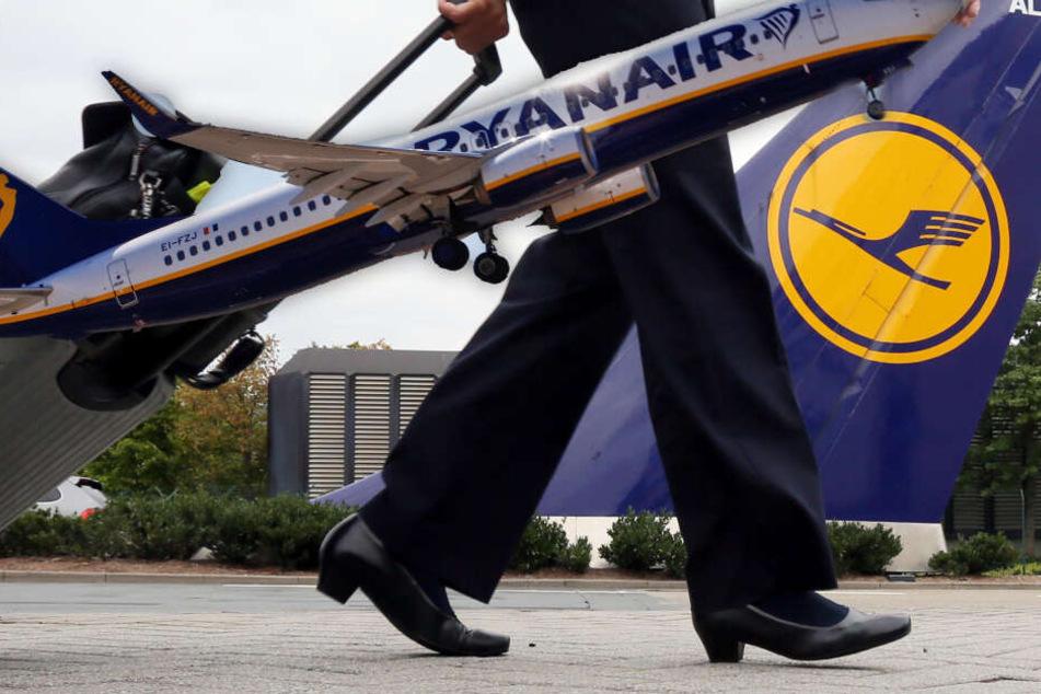 Bittere Pille für die Lufthansa: In dieser Kategorie hängt Ryanair sie ab