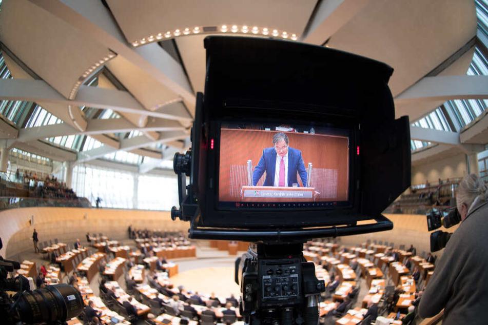 Der Landtag in Düsseldorf.