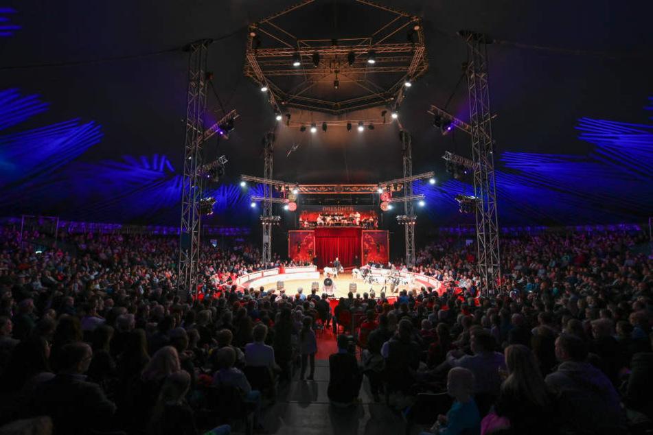 Für die Qualität des Weihnachts-Circus spricht: Fast jede Vorstellung ist bis auf den letzten Platz ausverkauft.