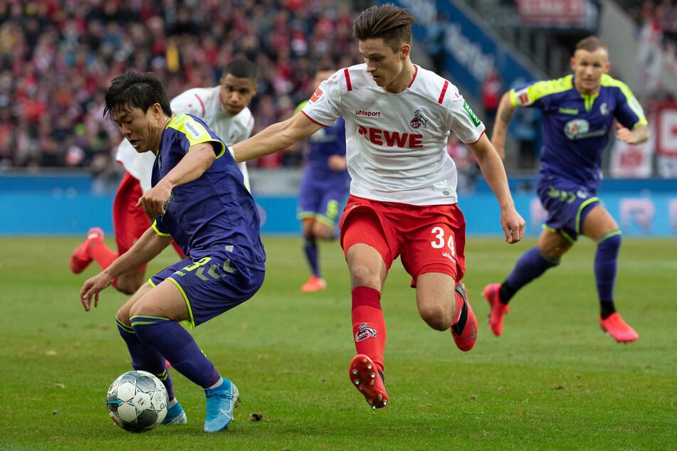 Noah Katterbach (18) absolvierte bisher zwölf Bundesligaspiele für den 1. FC Köln.