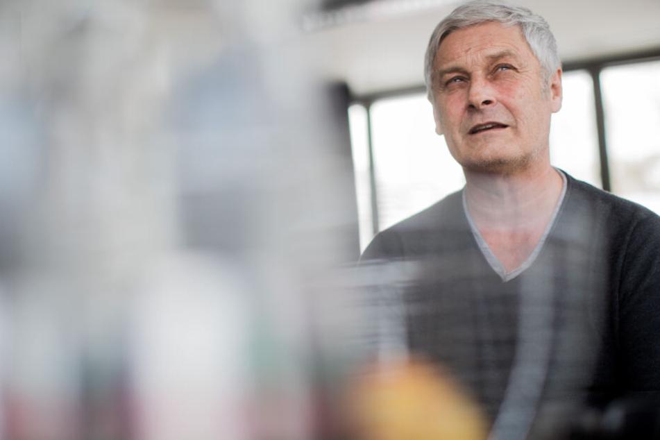 Veh sprach in dem Interview über Vertrauen und die Zusammenarbeit mit Interims-Vorstand Müller-Römer.