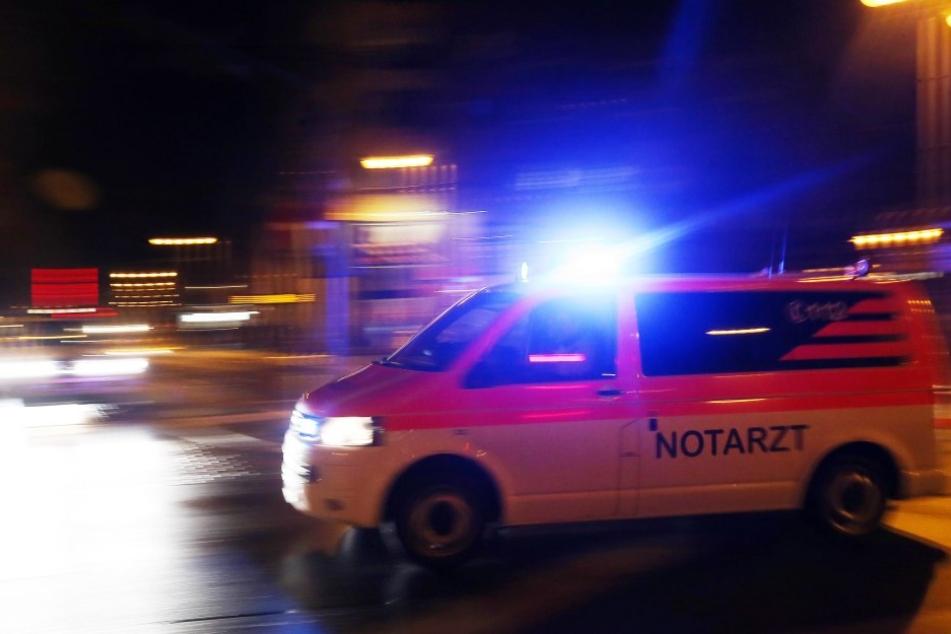 Die beiden jungen Männer wurden bei dem Unfall schwer verletzt.