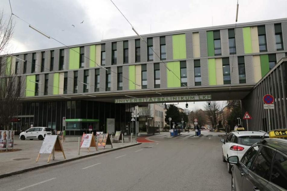 In dieser Klinik in Salzburg war die Frau zuvor eingeliefert worden.