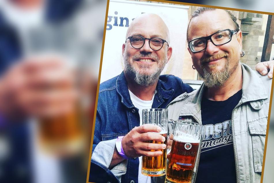 """Prost Jungs! Wo würden die ausgewiesenen Bierfreunde von """"Mundstuhl"""" wohl lieber drehen als im Binding-Wirtshaus?"""
