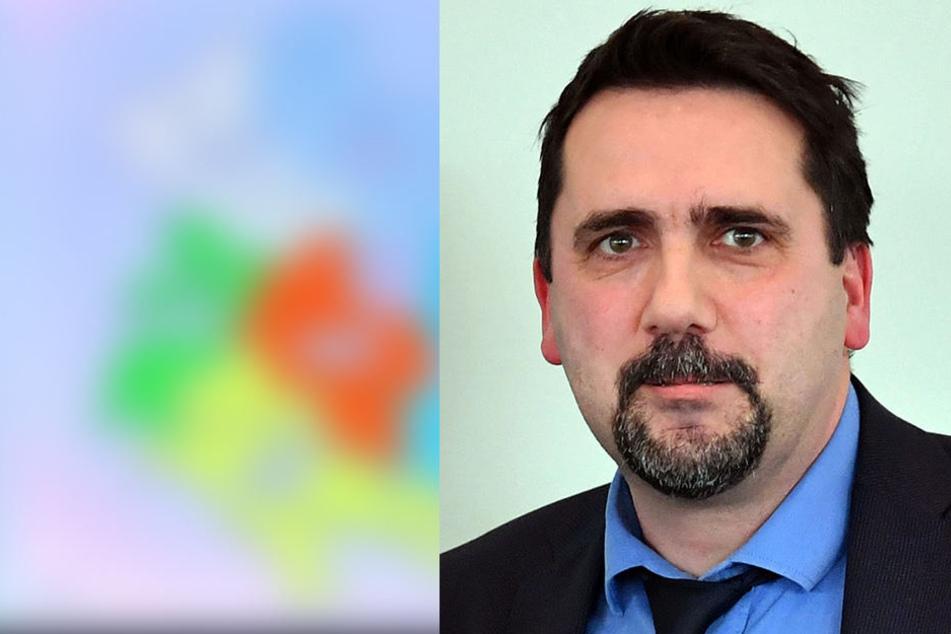 Landrat Peter Heimrich (SPD) fordert den Rückzug seiner Partei aus der Koalition.