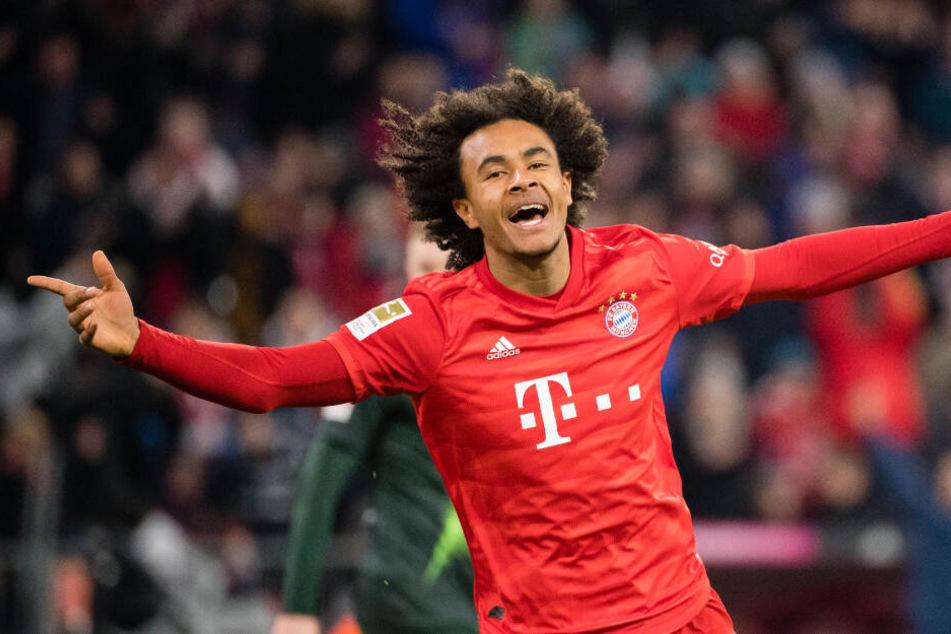 Joker Joshua Zirkzee erlöste den FC Bayern mit seinem Tor zum 1:0.