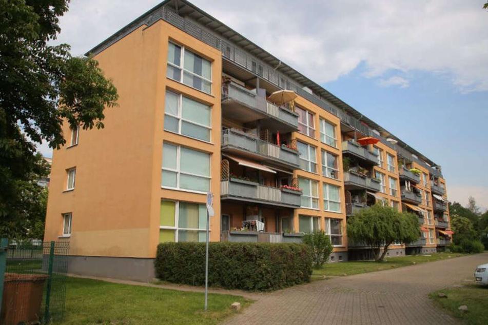 Das Haus in der Bodenbacher Straße.