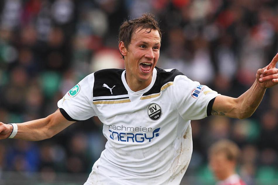 Tim Danneberg stieg mit dem SV Sandhausen in die 2. Bundesliga auf, kam dort - auch verletzungsbedingt - aber nur auf 15 Einsätze.