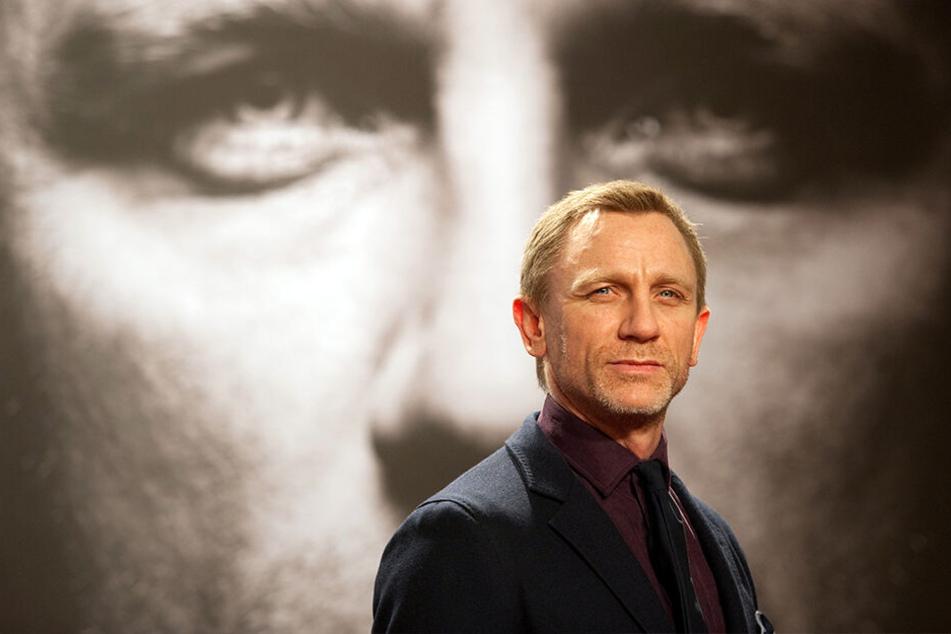 Der britische Schauspieler Daniel Craig spielt auch im 25. James-Bond-Film den gleichnamigen Geheimagent.