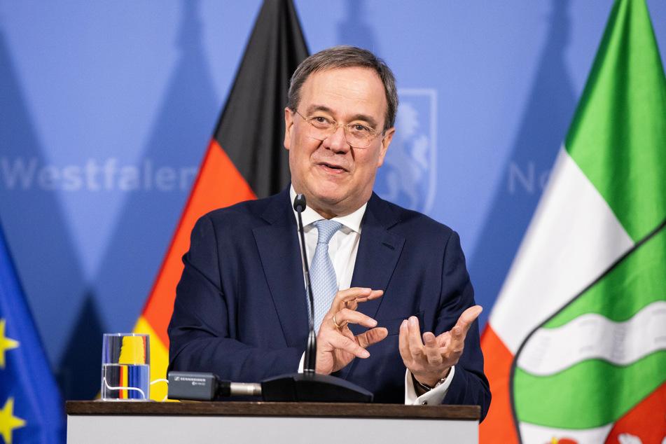 NRW-Ministerpräsident Armin Laschet (60, CDU) hat sich bereits festgelegt, auch im Falle eines Misserfolgs bei der Bundestagswahl in Berlin bleiben zu wollen. (Archivfoto)