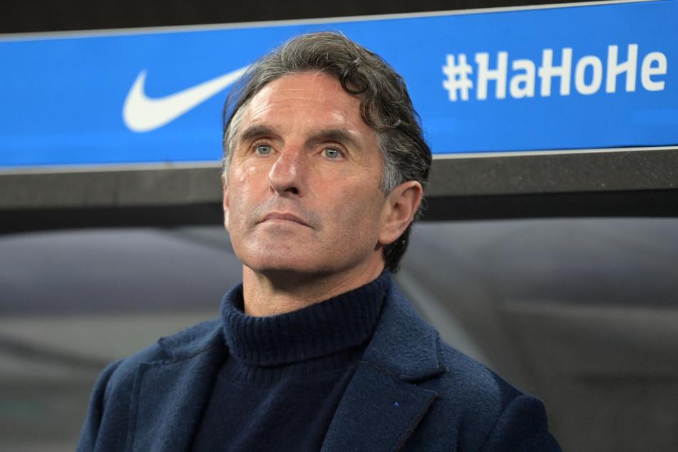 Hertha-Trainer Bruno Labbadia hat sich zur Schweiz-Reise Matheus Cunhas geäußert.