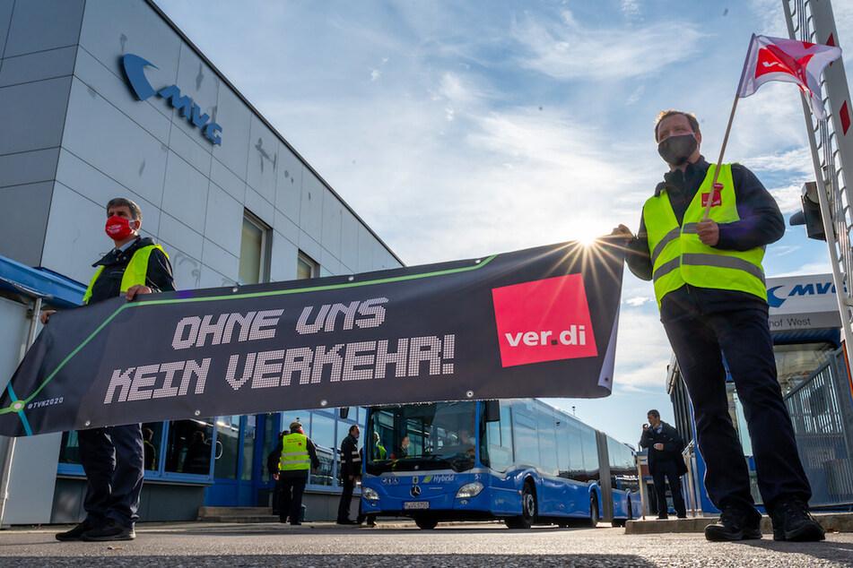 München: Streiks vorerst vom Tisch: Tarifeinigung im Nahverkehr in Bayern