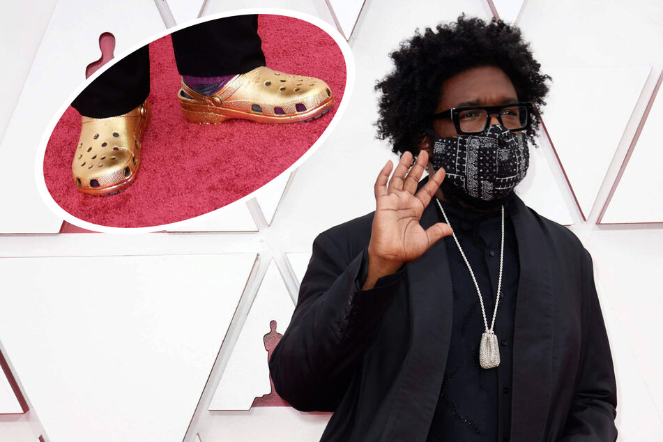 Did Questlove just set a new trend by wearing Crocs to the Oscars?