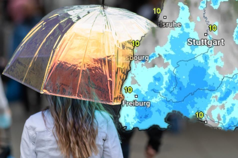 Regenschirm einpacken! So ungemütlich wird es im Südwesten