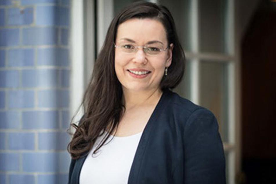 Luise Frohberg (35), Chefin der Frauen Union Leipzig.