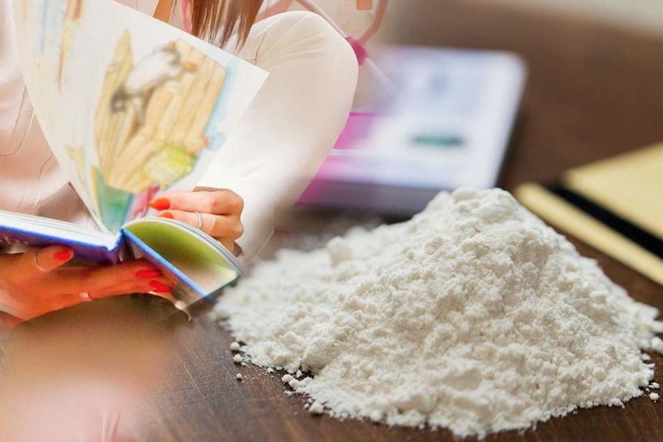 Der Rentner hatte das Kokain in Kinderbüchern versteckt.