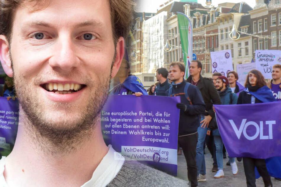 Damian Boeselager ist der Gründer der Partei Volt.