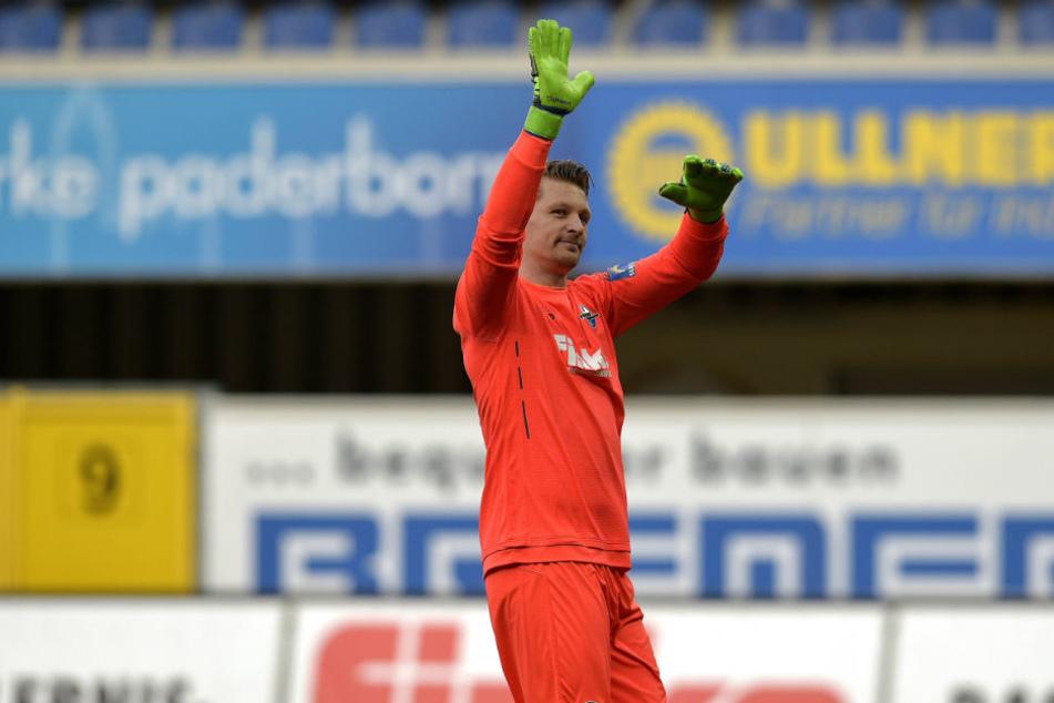 Michael Ratajczak will als SCP-Keeper das Tor der Paderborner sauber halten.