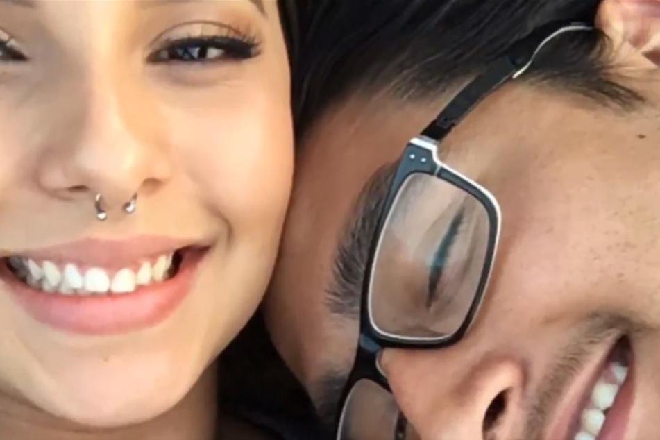 Paulina Ramirez und ihr Freund George.