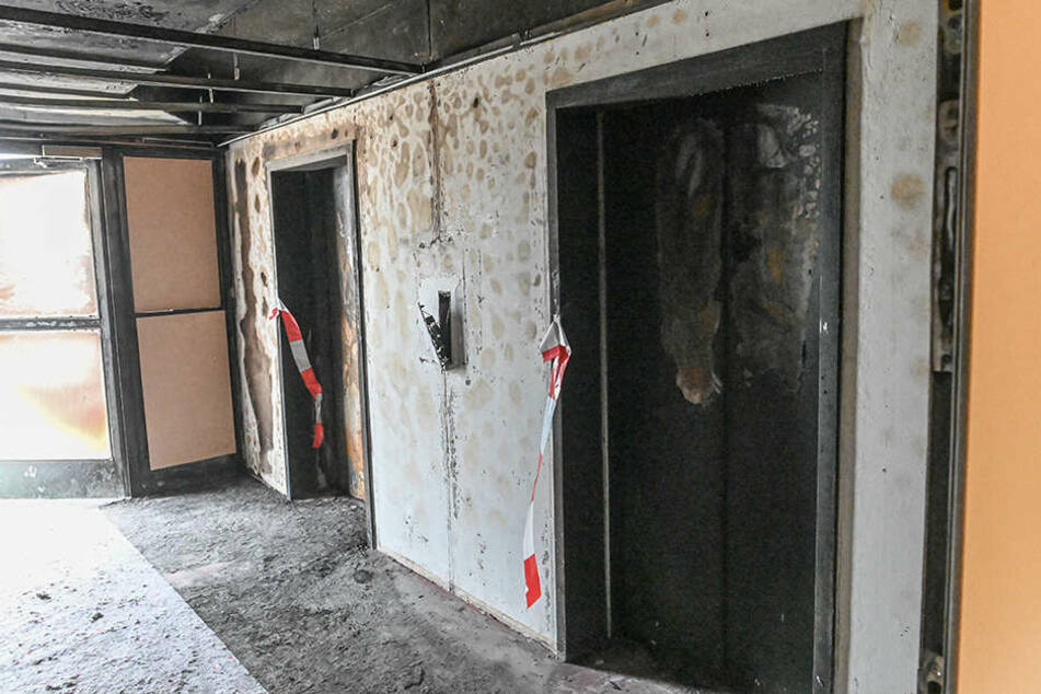Die Kripo ermittelt nach dem Sofa-Feuer im 14. Stock weiter wegen schwerer Brandstiftung.