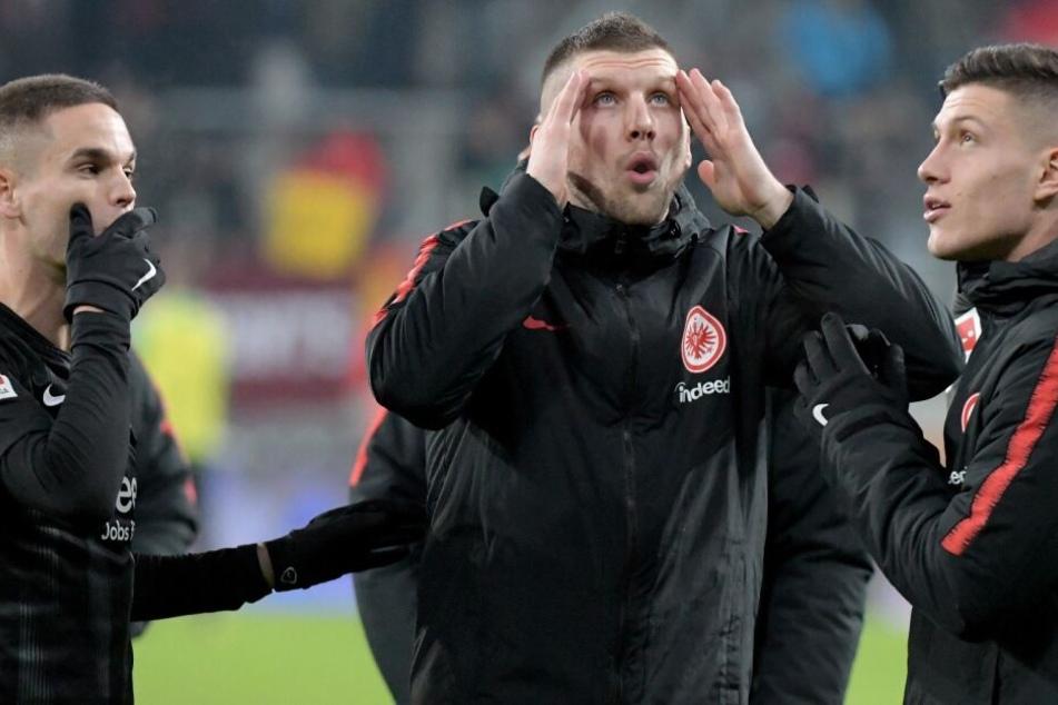 Rebic kann in Mailand nicht mitwirken.