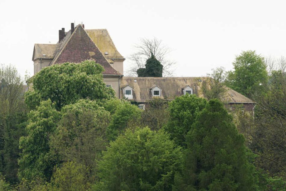 Schloss Mutzschen wird derzeit zu einem Hotel für Motorradfahrer umgebaut.