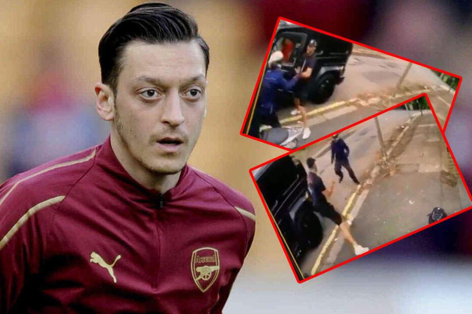 Mitten in der City! Bewaffneter Raubüberfall auf Mesut Özil