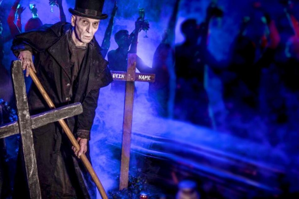 Vom Grabstein bis zur Party: Das Berlin Dungeon organisiert Deine lebendige Beerdigung.