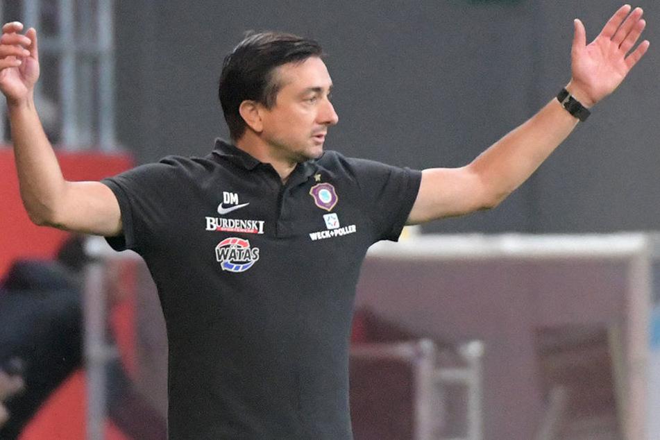 Aue-Coach Daniel Meyer.