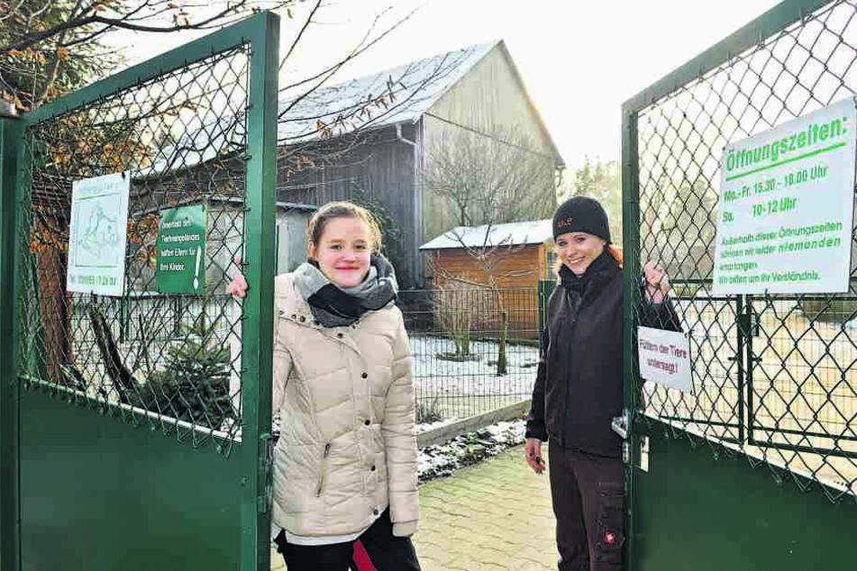 """Das Heim """"Hoffnung für Tiere"""" in Bretnig-Hauswalde (bei Bischofswerda)."""