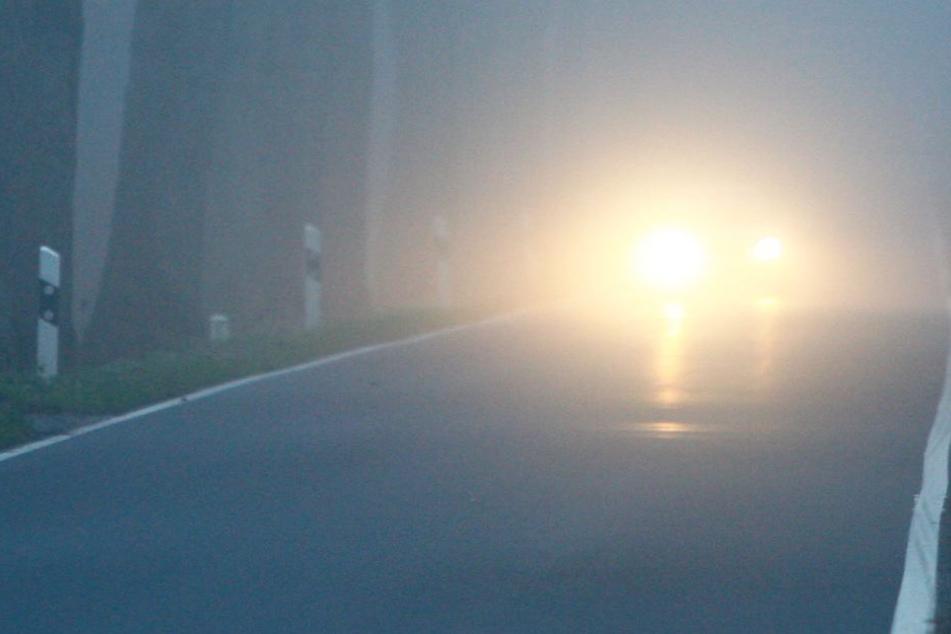 Im Nebel hatte der Fahrer den Mann zu spät gesehen. (Symbolbild)
