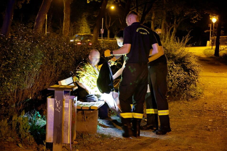 Die Feuerwehr übernahm die Erstversorgung.