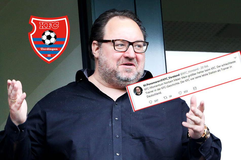 Ist das der peinlichste Twitter-Account in Fußball-Deutschland?