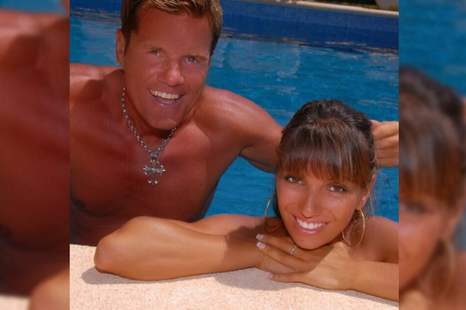 So sahen Dieter Bohlen und seine Freundin Carina Walz vor 13 Jahren kurz nach ihrem Kennenlernen aus.
