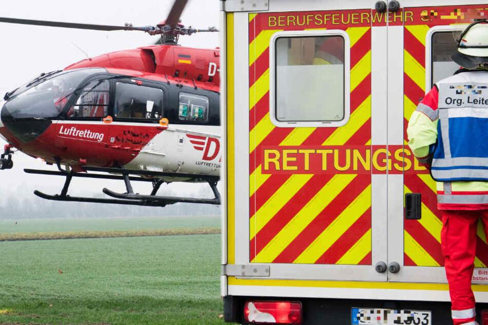 Drei Tote bei schwerem Unfall: B27 komplett gesperrt