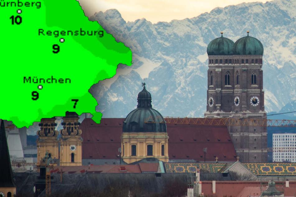 Winteranfang? Von wegen! So wird das Wetter in Bayern