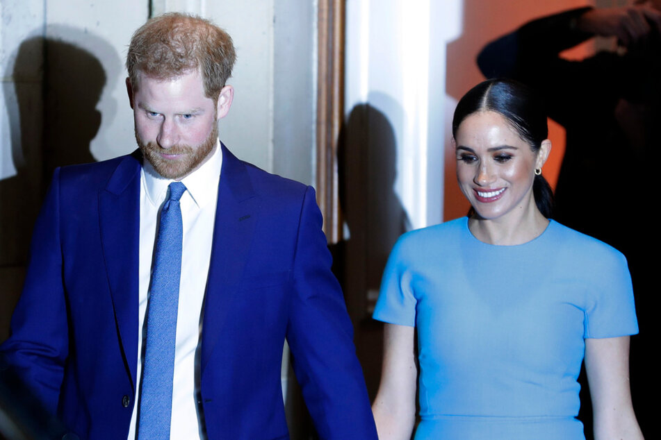 Prinz Harry und seine Ehefrau Meghan, Herzogin von Sussex.