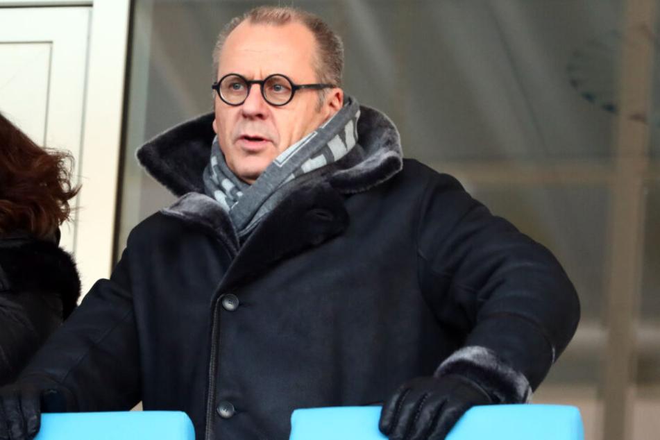 Insolvenzverwalter Klaus Siemon hofft, dass die Stadt Chemnitz dem CFC in Sachen Stadionkosten entgegenkommt. Die Zeit drängt!
