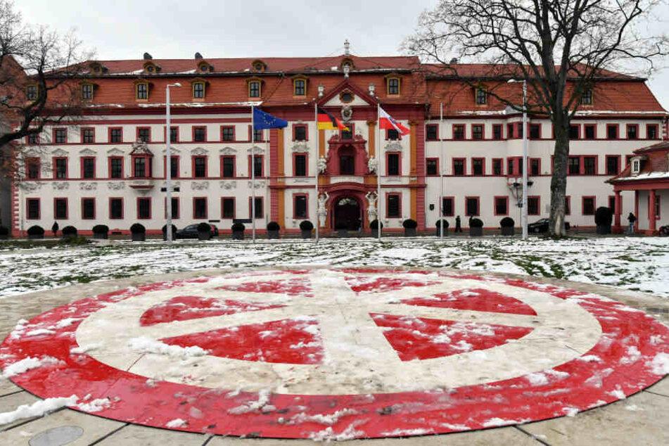Auch die Thüringer Staatskanzlei erhält eine Finanzspritze von 11,4 Millionen Euro.