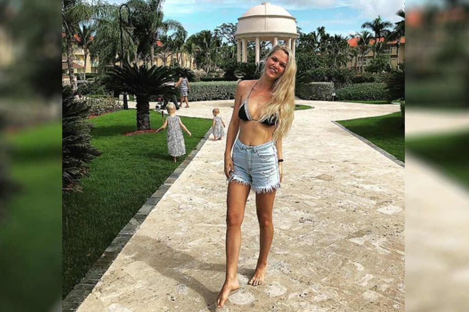 Auf Reisen: Für das Erkunden ferner Länder gibt Sara Kulka (27) am liebsten ihr Geld aus.