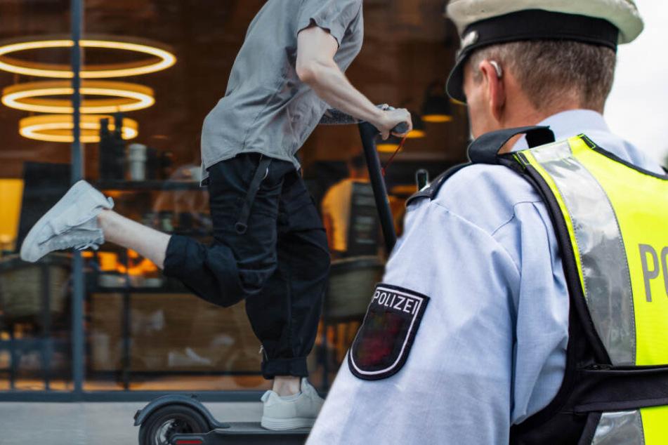 Festnahme! Polizist liefert sich auf E-Roller irre Verfolgungsjagd mit Dieben