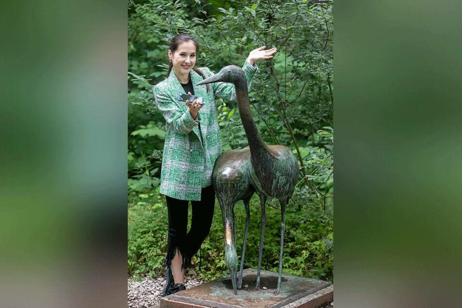 TAG24-Reporterin Isabel Möller (22) testete die App. Von diesen Vögeln kann sie aber keine Singstimmen erwarten.