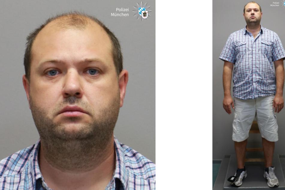 Die Bilder zeigen den unter Tatverdacht stehenden Ehemann der 41-Jährigen. Er ist der Stiefvater der ebenfalls vermissten 16-Jährigen.